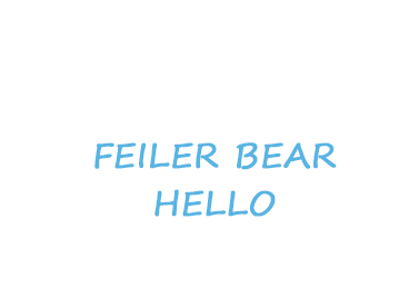 FEILER BEAR HELLO